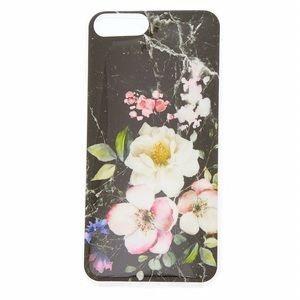 Marbles Floral iPhone Case (Fits 6+, 7+, 8+)